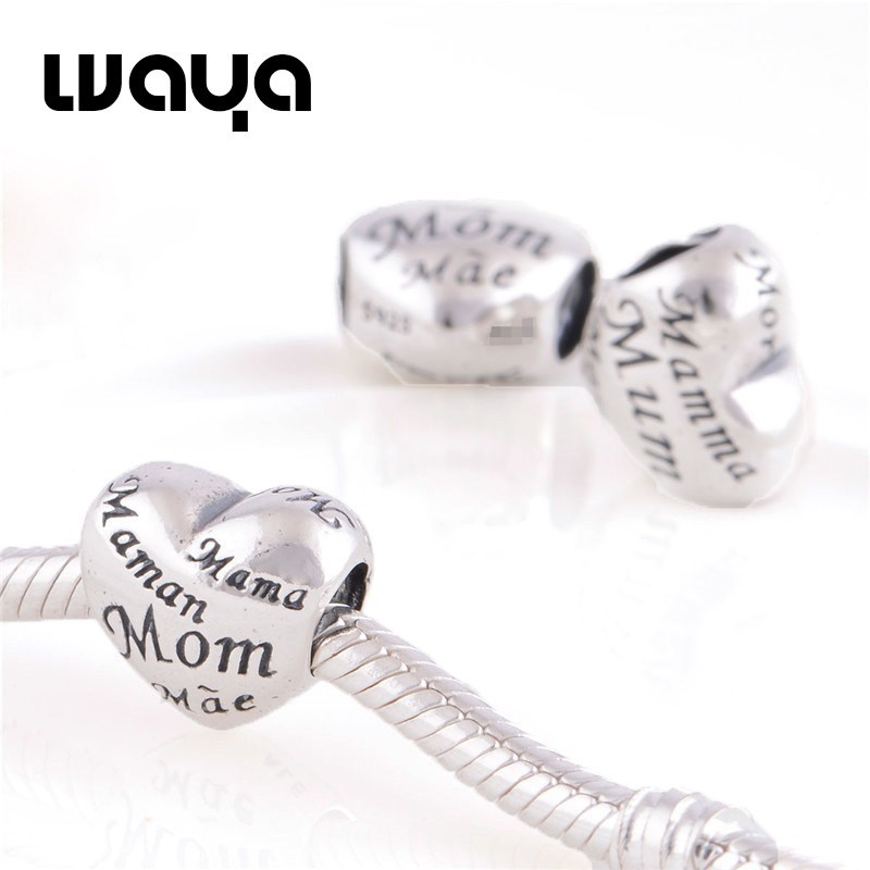 Mothers-of-the-world-charm-925-silver-best-diy-gift-to-mother-heart-charm-lw29