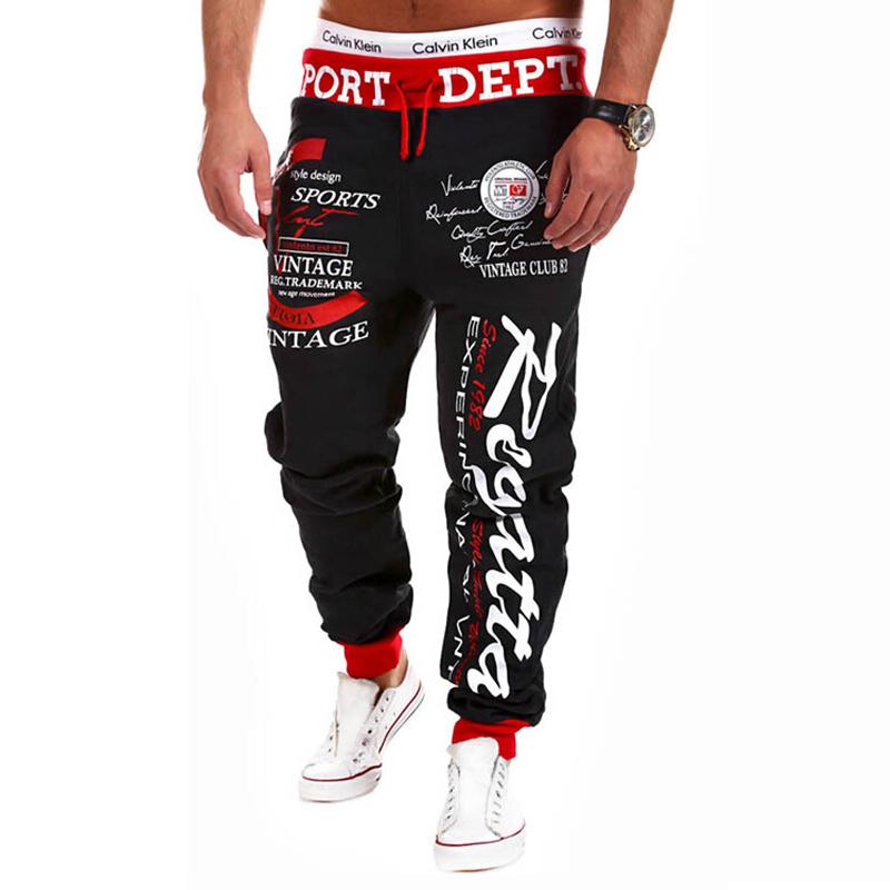 2015 новое поступление горячая распродажа весна осень марка мужские спортивные штаны мода шаровары мужчин свободного покроя хлопок брюки мужская бегунов брюки
