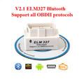 MINI ELM327 Bluetooth OBD2 V2 1 White Smart Car Diagnostic Interface ELM 327 Wireless Scan Tool