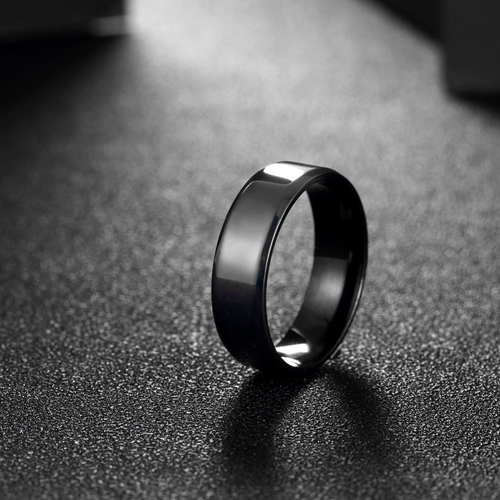 Popular hot new fashion personality titanium steel ring anti-allergy retro creative simple men's rings jewelry(China (Mainland))