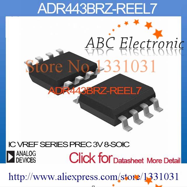 ADR443BRZ-REEL7 IC VREF SERIES PREC 3V 8-SOIC ADR443BRZ-REEL7 443 ADR443BRZ ADR443 ADR443B ADR443BR(China (Mainland))