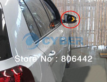 Promotions! 2Pcs/Lot 14 SMD LED Arrow Panels Light for Car Side Mirror Turn Signal Indicator Lights 3Colors TK0416 30(China (Mainland))