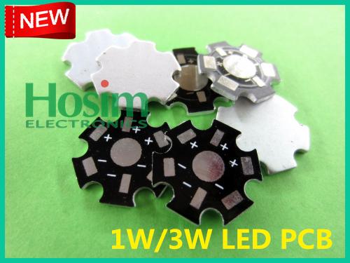 [Hosim] PCB1W&3W, 200pcs/lot, 1W&3W High Power LED Aluminum Base Plate,  Circuit board, LED PCB, wholesale, free shipping