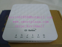 Fiberhome AN5506-02-B GPON ONU optical network unit apply to FTTH FTTO modems, 2 internet ports, 1 telephone pot , white colour(China (Mainland))