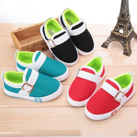 Детская обувь мальчики девочки спортивная обувь дети сетки дышащий конфеты цвета свободного покроя обувь малыш кроссовки 21 - 25