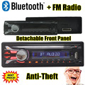In Dash Car Radio Stereo bluetooth Seperable front panel MP3 Player FM USB SD AUX Input