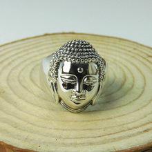 Стерлингового серебра 925 глава кольцо новое блюдо для мужчин и женщин(China (Mainland))