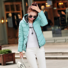 2016 Winter Jacket Women's Cashmere Coat Doudoune Femme Abrigos y Chaquetas Mujer Slim Dames Jassen Blouson Femme Free Shipping