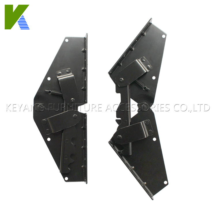 Furniture Hardware Strong Sofa Bed Hinges,Make Sofa Become Sofa Bed Mechanism With 300mm Length KYA021(China (Mainland))