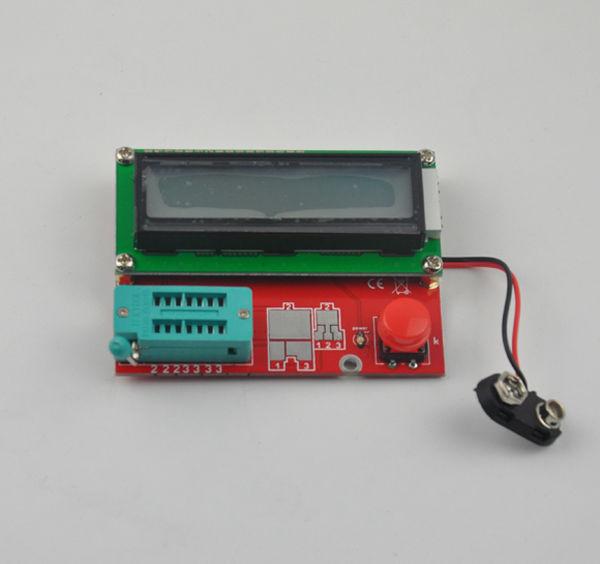 Diode Triode Capacitance ESR Meter SMD/DIP Transistor Tester MOS PNP NPN R/C/L