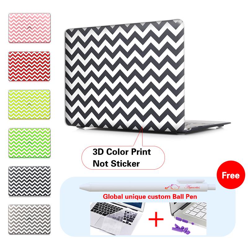 White stripes Black font b Laptop b font Computer Bag For font b Apple b font