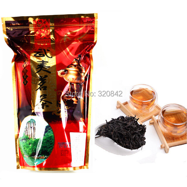 250g Chinese Da Hong Pao tea Big Red Robe oolong tea the original gift green food tea da hong pao health care dahongpao tea(China (Mainland))