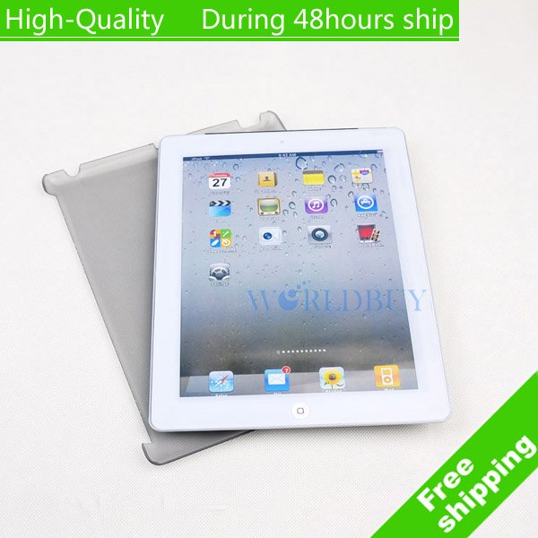 High Quality Anti-glare design Hard Plastic Smart Crystal Case Cover For ipad 2 Free Shipping UPS DHL HKPAM CPAM #1<br><br>Aliexpress