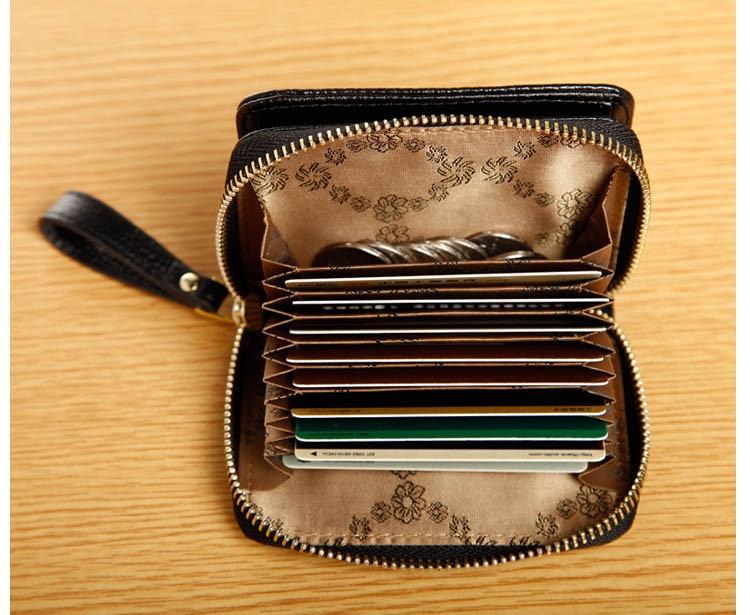 Women genuine leather wallets 17-2