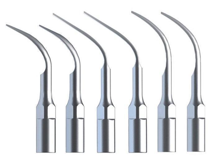 Dental 30PCS Dental Scaler Tips 30X Dental Ultrasonic Scaler Scaling Tip G1 G2 G3 G4 G5 G6 For EMS & WOODPECKER