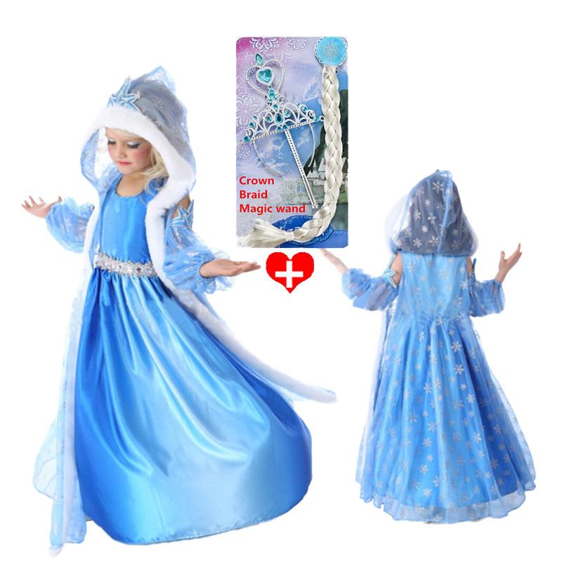 Гаджет  2015 girls dress birthday, baby girls winter dress. costume princess dress sequined cartoon costume Free shipping girls dresses. None Детские товары