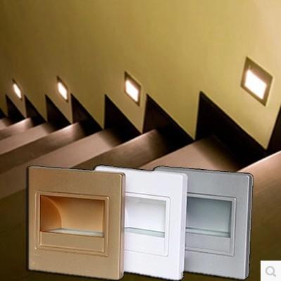 Comprar simple moderna lampara led for Apliques led para escaleras