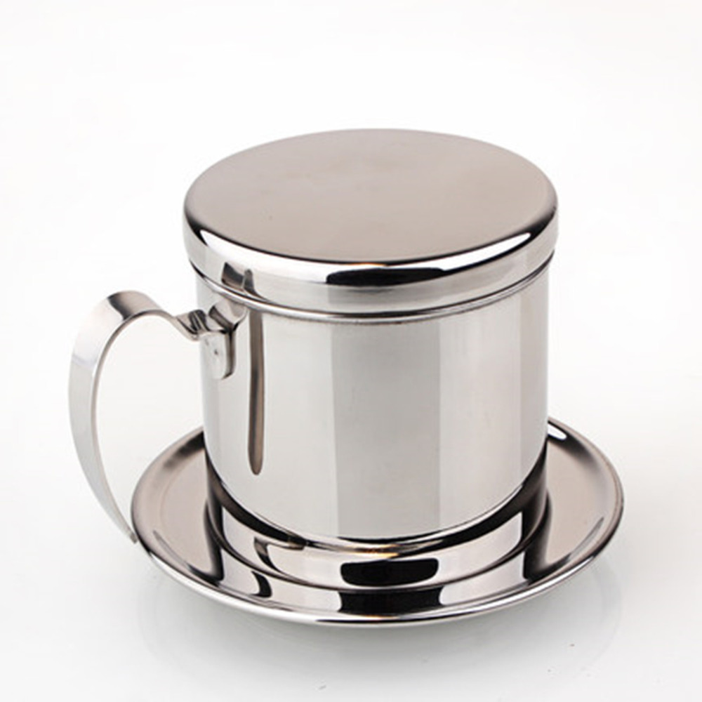 1PC Vietnamese stainless steel filter/Espresso Coffee Maker Percolator<br><br>Aliexpress