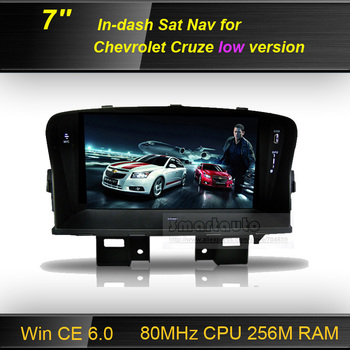 7 inch GPS Navigation player for Chevrolet Cruze GPS (2009-2013) low version, 800Mhz super fast