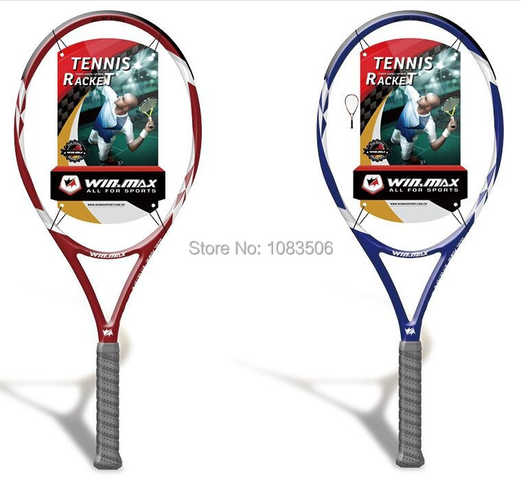 Free shipping! New arrival WINMAX New Design Tennis Racket Head for Tennis Sports top quality cheap tennis rackets(China (Mainland))