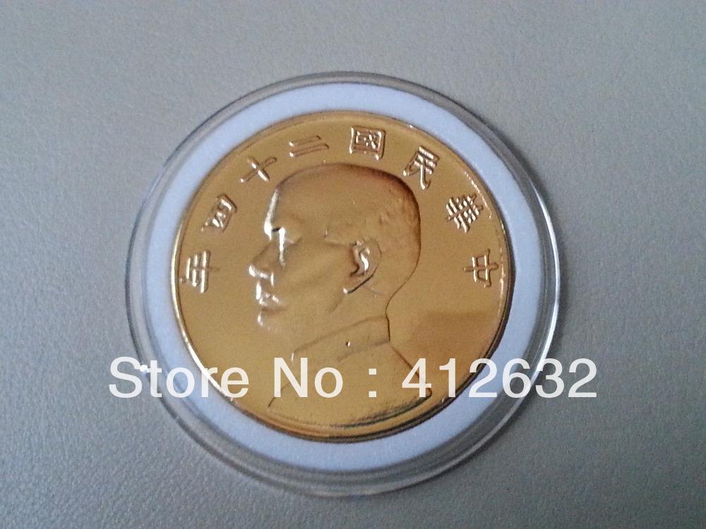 Gold Coin of Sun Yat Sen,Republic of China 24th Year(China (Mainland))