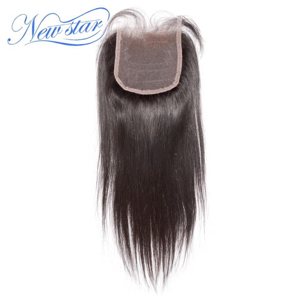Гаджет  lace closure brazilian virgin hair straight style natural off black or dark brown DHL free shipping new star light None Волосы и аксессуары