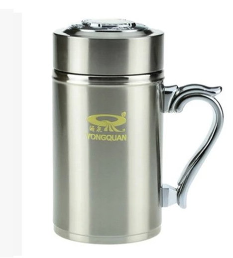 NEW! Rambler Tumbler w/Lid 20 oz. Silver YRAM20 double-wall vacuum insulation. Keeps ice 2x Stainless Steel - Auto-case Store store
