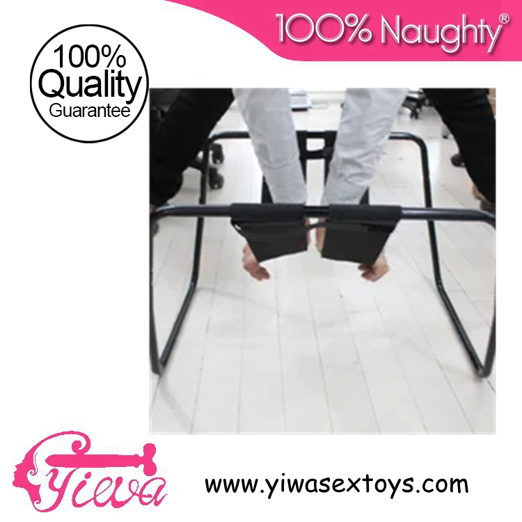 Фотография Loving Bouncer Stainless Steel sex chair position Trampoline& G-Spot Furnitures for Lover Couple Adult Sex Toys Erotic Products