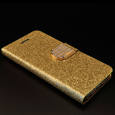 2015 New arrive For iphone 6 case Diamond PU Wallet Leather Phone Case for iphone 6 for capa de iPhone 6 Water/Dirt/Shockproof(China (Mainland))