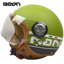 2016 brands fashion casque motorcycle helmet half face four season casco moto beon helmets capacete for men women M-XL 54-60cm(China (Mainland))