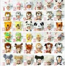 Promotion ! New WINTER Cartoon Animal Hat Fluffy Plush Cap Unisex best Novelty gift for boy girl friend With Ear Flap(China (Mainland))