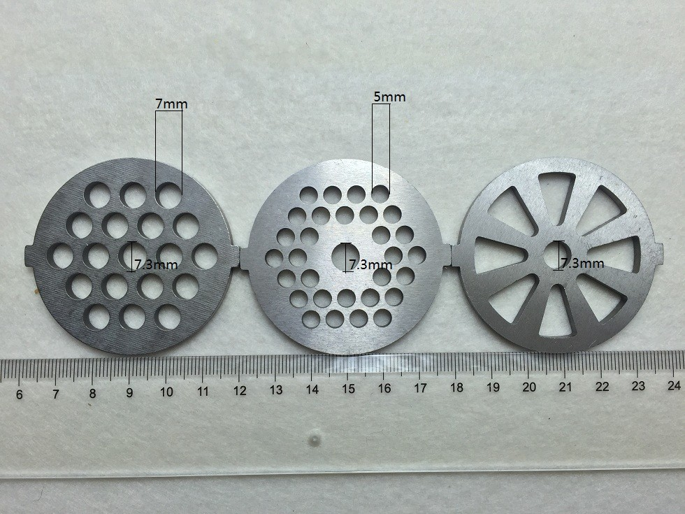 3 piece 5# round knife blade meat grinder meat grinder accessories meat grinder part fit BEKO meat grinder parts 746(China (Mainland))