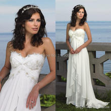 Halter Straps White Ivory Flower Long Dress
