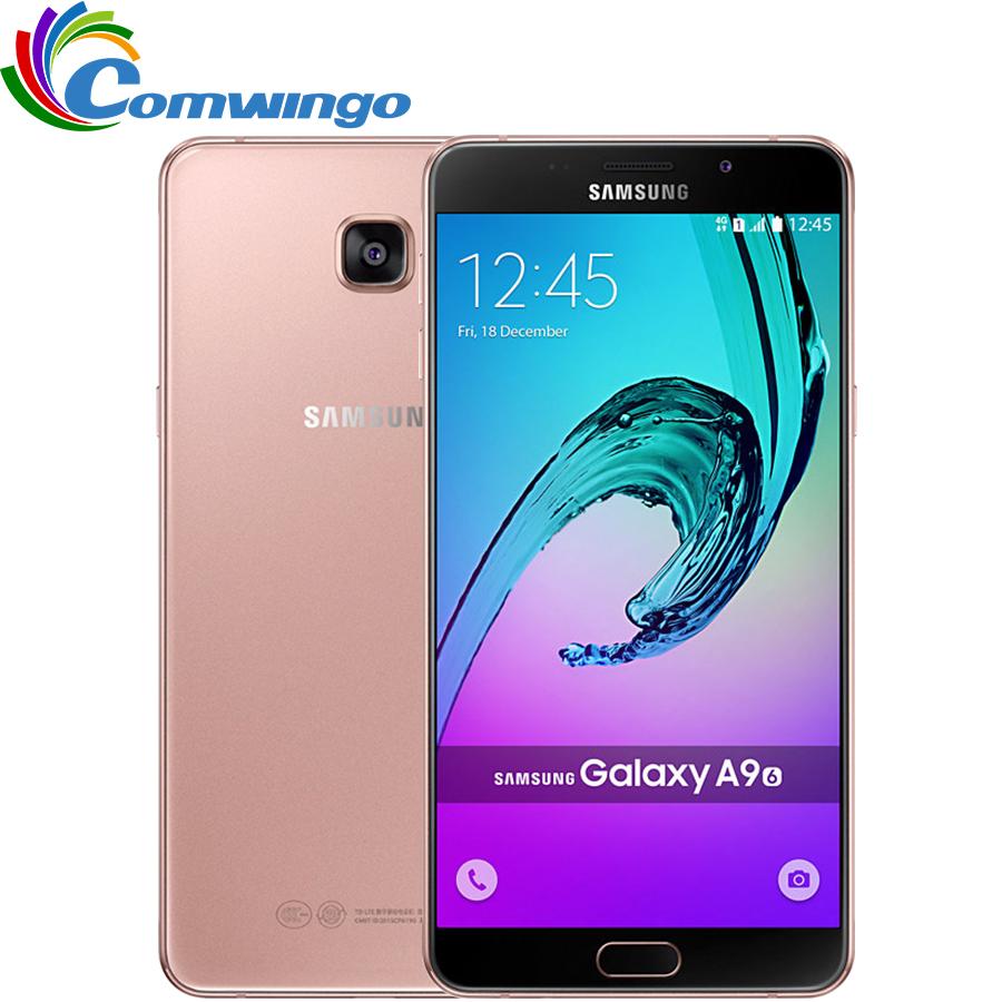 Original Unlocked Samsung Galaxy A9 A9000 Mobile Phone 6.0 inch Octa-Core 1.8GHz 3GB RAM 32GB LTE 13MP Android 4000mAh Dual SIM(China (Mainland))