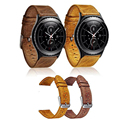 Excellent Quality Genuine Leather Watch Band for Gear S2 Band Replacement Wrist Strap For Samsung Galaxy
