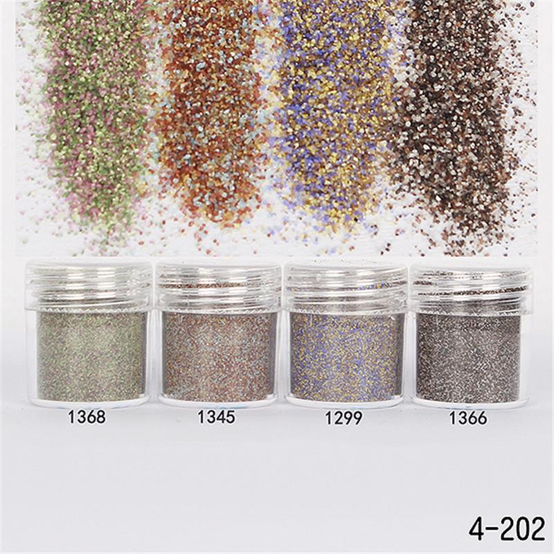 1Box 10ml Shiny Glitter Powder Matte Sparkles Powder Nail Art Decorations(China (Mainland))