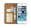 Premium Flip Wallet Leather Case Cover For iPhone 5 5S i5 SE 4inch Phone case cover