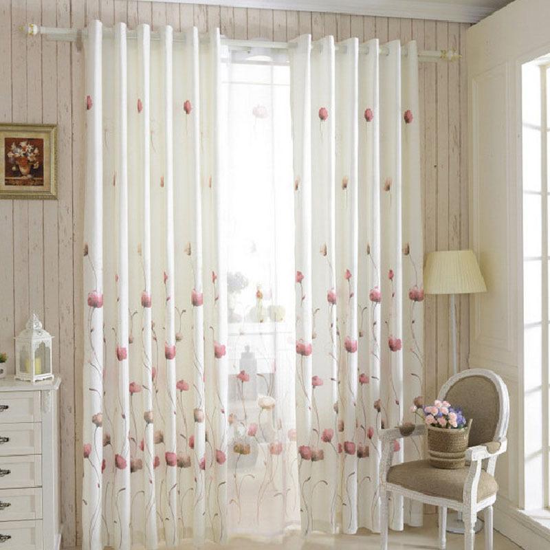 Organza cortinas cortinas de la cocina cocina cortina de for Estilos de cortinas