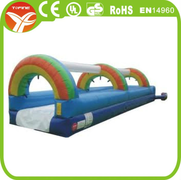 Free shipping inflatable slip n slide(China (Mainland))