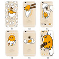 New Fashion Cartoon Gudetama Egg Partern Case Cover For Iphone 6 Plus 5 5inch For iphone