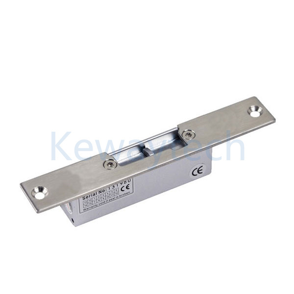 Narrow plate electric strike with signal 12v fail safe or for 12v electric door strike