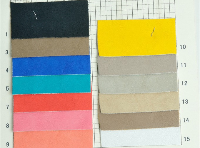 1.2mm thick imitation PU leather/ synthethic leather material fabric for Bags, shoes, belts, clothing, furniture(China (Mainland))