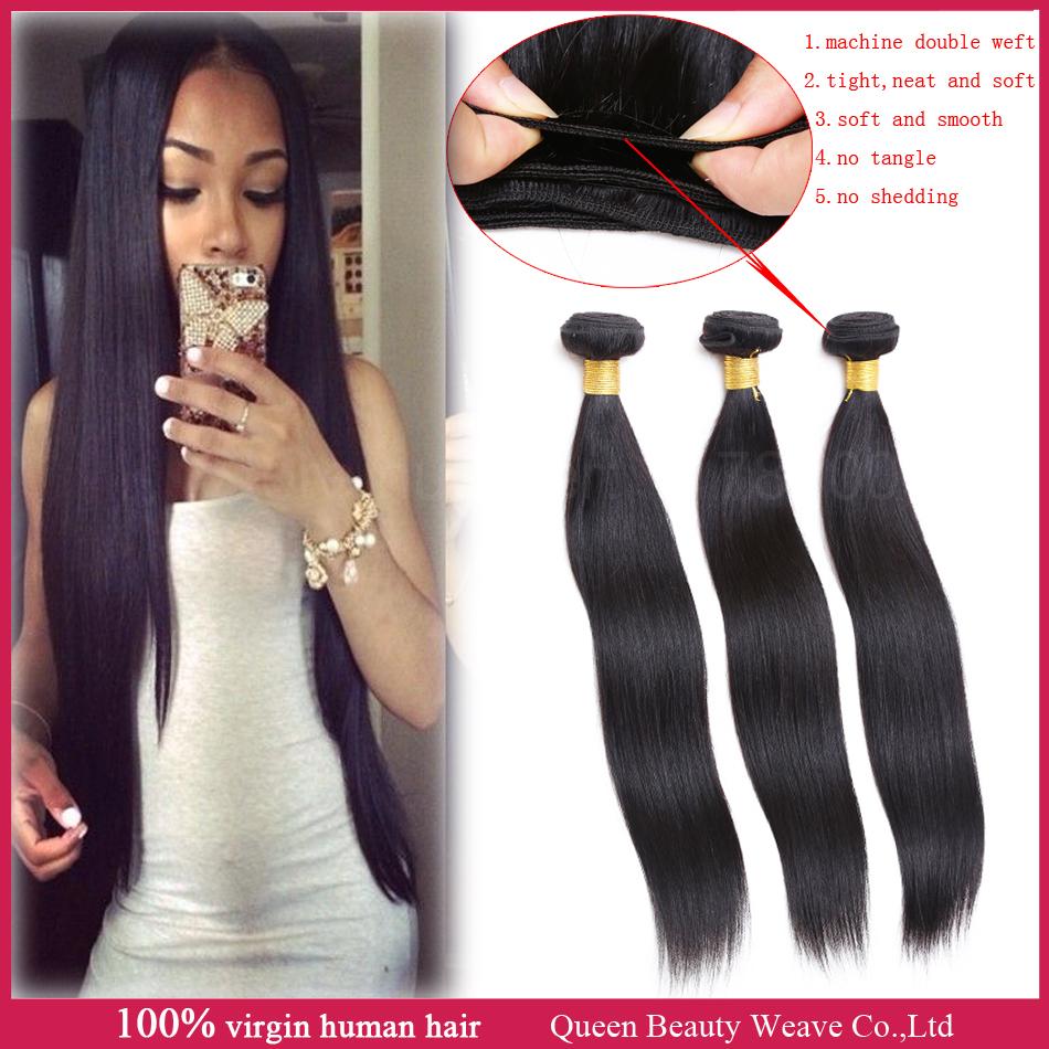 peruvian virgin hair straight human hair weave natural black 3pcs lot peruvian straight hair bundles extension 100g/pc 8-30 inch(China (Mainland))