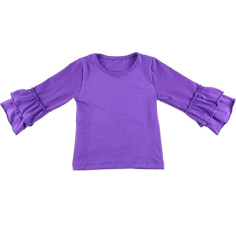 2016 New Real Minecraft Minion Wennikids Solid Cotton Sleeve Ruffle Top,girl T-shirt Children T Shirts Kid Tops Free Shipping  HTB1NhavHVXXXXb.XVXXq6xXFXXXI