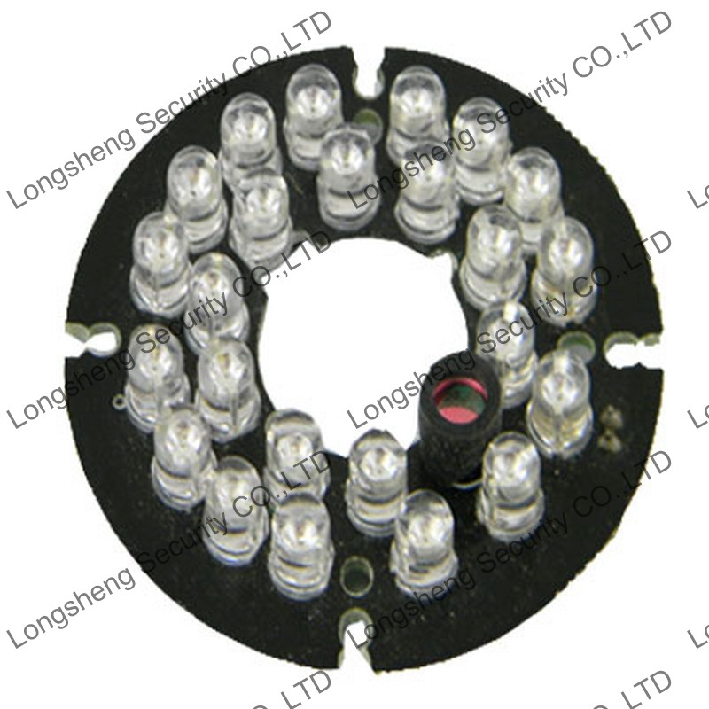 24 Leds Infrared IR 90 Degrees Board 850nm for Security CCTV Camera 5mm<br><br>Aliexpress