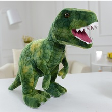 Buy Creative simulation dinosaur doll dolls Rex Wong plush toys children birthday gift boys for $24.75 in AliExpress store