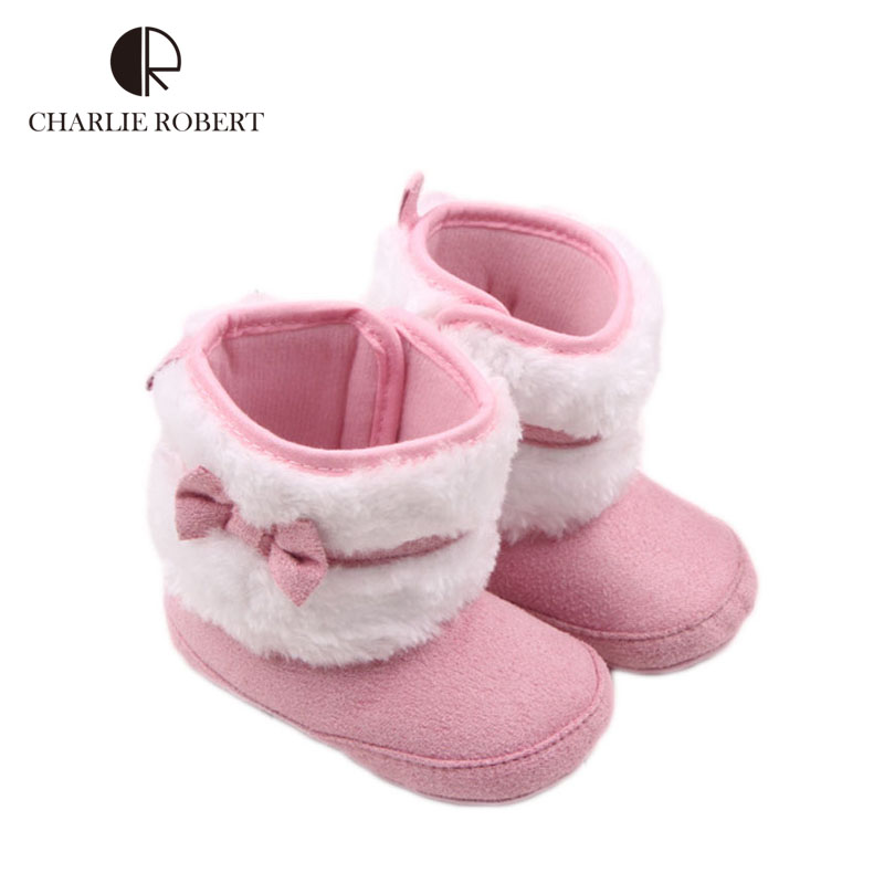 New Baby Shoes First Walker Soft Baby Boots For Girls Winter Newborn Infant Girls Shoes Warm Kids Boots Cotton Shoes Baby HK932(China (Mainland))
