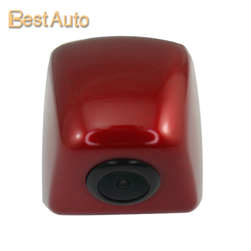 Hot Sale In Stock High Quality Rear/Front/Left/Right View Parking Universal Reversing Camera Stainless Metal Parking red(China (Mainland))