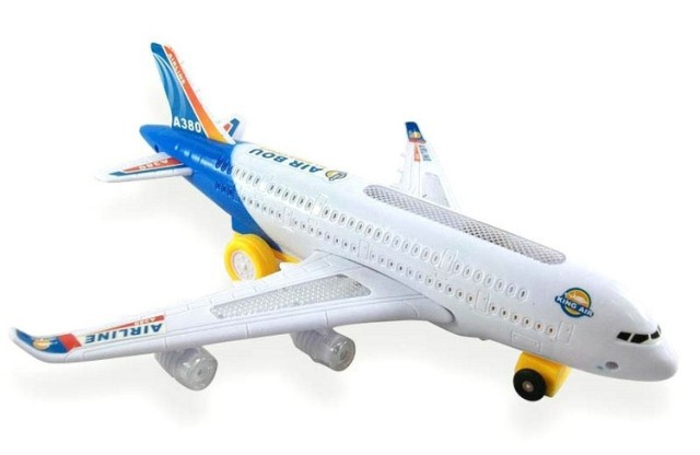 Electric air plane Toy Educational detachable air plane flashing lights, with The voice of plane takes off fun toy gift w6500(China (Mainland))