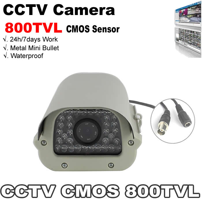 1/4CMOS 800tvl night vision 35 ir led bullet security camera with ircut flitter waterproof function work for indoor and outdoor<br><br>Aliexpress